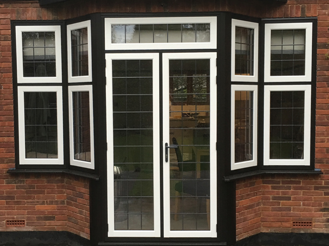 Residence R9 timber alternative windows, Watford, Hertfordshire
