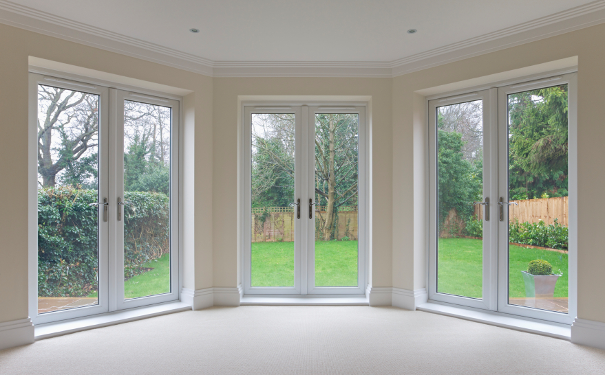 Patio doors oxford mcleans windows for Full glass patio door