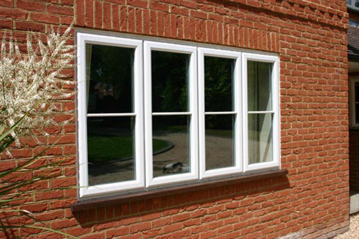 Upvc windows oxford mcleans windows for Upvc window frame