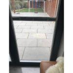aluminium bifolding doors with integral blinds oxford