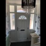 Composite Front Door with Side lights ineternal Cowley