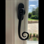 Listed Timber window handle