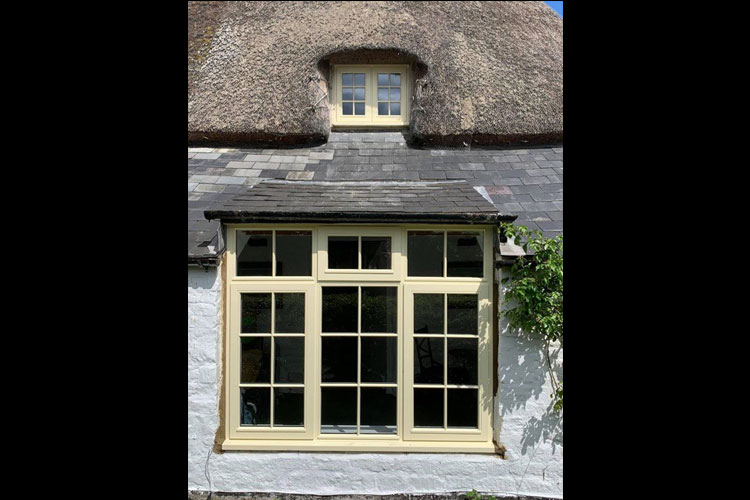 wooden window witney oxfordshire